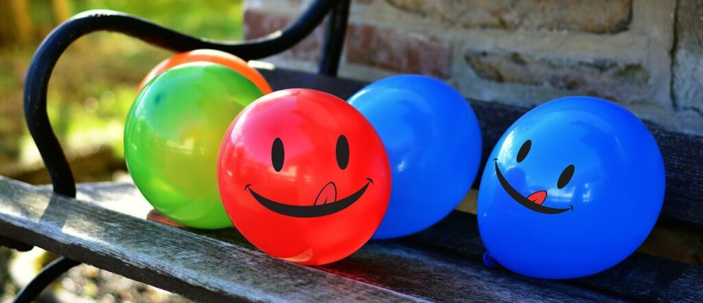шарики с гелием